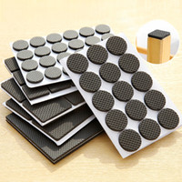 Wholesale chair protectors covers resale online - Tables anti wear protective mat chairs cover anti slip stool table leg mat home Furniture Accessories protector cover FFA2124