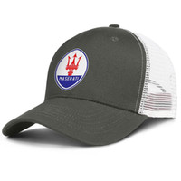 Wholesale ventilation cap for sale - Group buy Men Mesh Caps Maserati car logo Women Classic Ventilation Ball Hat Logo