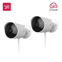 Wholesale waterproof wi fi camera resale online - YI Outdoor Security Camera P FHD G Wi Fi IP Waterproof Night Vision Surveillance System
