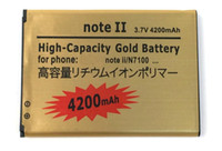 s4 мини-золото оптовых-Аккумулятор повышенной емкости для Samsung Samsung s2 s3 s4 s5 mini s6 s7 edge note3 note4