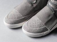 Wholesale glowing chain for sale - Group buy Designer boot men s glow dark grey triple black high ankle sneaker women s sneaker skate shoe size