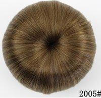 Wholesale chignon online - 10 New hair bag high grade silk professional hairpin bride hair fluffy short curly hair ball hairpin