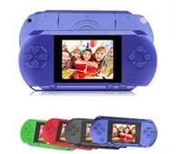 video oyun istasyonları toptan satış-Sıcak PXP3 Klasik Oyunları Ince Istasyonu El Oyun Konsolu 16 Bit Taşınabilir Video Oyun Oyuncu 5 Renk Retro Cep Oyun Oyuncu