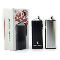 Wholesale dry herb wax oil cigarette resale online - Original Kintons Black Widow Kit E Cigarettes in Kit For Dry Herb Wax Oil mAh Built in Battery Vape Pen Kits