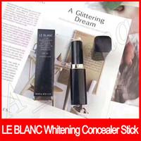 Wholesale famous lighting resale online - Famous Face Makeup LE BLANC Stick Blanchissant Createur De Lumiere Light Creator Face Whitening Concealer Stick by epacket