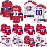 Wholesale canadiens jersey numbers resale online - Men s Montreal Canadiens jerseys Max Domi Carey Price Brendan Gallagher Shea Weber Custom any name any number hockey jersey