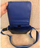 ingrosso uomini della borsa del corpo della traversa di modo-DISTRICT PM High-end nuovo arrivo famoso marchio classico designer moda uomo messenger borse cross body bag sacchetti di scuola borsa a tracolla 8573