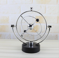 ingrosso decorazioni esotiche-Hot Rotating Perpetual Globe Modello Swinging Celestial Globe New Exotic Home Crafts Decorazione scrivania Designer Gifts