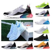 luft sportschuhe preis groihandel-Top Nike Air Max 270 Highest quality men shoes breathable running shoes men and women sneakers with logo sports Casual shoes Discount Promotion