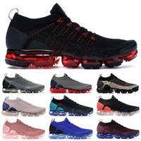 Wholesale men canvas navy blue shoes resale online - 2020 Chinese new year tiger running shoes for men fly black dark grey hot punch metallic gold white women designer sneakers
