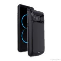 cas chargeur de banque pour samsung achat en gros de-Téléphone portable 5500mAh banques d'alimentation cas Chargeur de batterie pour Samsung S8 Plus Battery Case de charge en stock