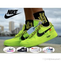 Wholesale tag 45 resale online - with stock x tags One mens women Flyline basketball Shoes Sports White Black Outdoor Trainers Sneaker size
