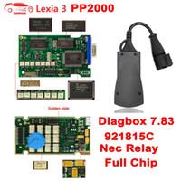 Wholesale tool lexia resale online - Lexia PP2000 Diagbox V7 C Firmware for For Lexia3 NEC Relay Full Chip Lexia OBD2 Diagnostics Tool