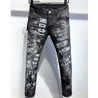 Wholesale summer motorcycle pants resale online - Designer Jeans Mens Summer Brand Jeans Casual Denim Pants Mens Distressed Ripped Jeans Motorcycle Street Style Luxury Denim Jean K