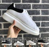 oxford best dress shoes venda por atacado-Designer de Sapatos Casuais Mulheres Homens Sapatilhas Sapatos De Couro Oxford Lazer Rua Melhor Luxo chaussures Trendy Andadores de Plataforma de Caminhada