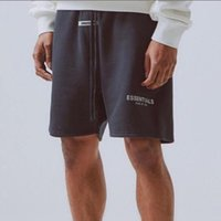 Wholesale reflective jersey for sale - Group buy 19SS FOG FEAR OF GOD Essentials M Reflective Letter Printing Men Casual Street Summer Elastic Waist Basketball Pure Color Shorts HFHLKZ017