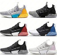 absorbente de zapatos al por mayor-Zapatillas deportivas para hombre Diseñador de zapatos deportivos para correr Rocket Jelly Popcorn Amortiguador Amortiguador Suelas zapatillas de deporte atléticas al aire libre 36-45