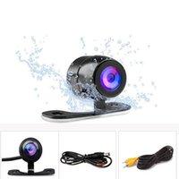 evrensel arka görüş kamerası toptan satış-Su geçirmez Araba Dikiz Kamera Yedekleme Kameralar HD Ters Kamera Oto Evrensel 170 Açı Görüş Park Kameraları HHA86