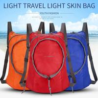 ingrosso zaino escursionistico ultraleggero-Zaino pieghevole leggero Zaino pieghevole zaino impermeabile Ultralight Outdoor Pack per borsa da trekking da viaggio da donna per uomo ZZA459