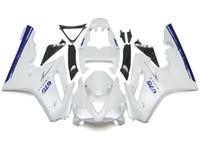 triunfo 675 carenagem branca azul venda por atacado-Nova Injeção ABS Plástico Motocicleta Fairings Kits Apto Para Triumph Daytona 675 06 07 08 2006 2007 2008 Carenagem Carroçaria agradável branco azul