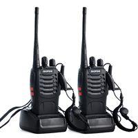 ingrosso transceiver portatili baofeng-2pcs Baofeng bf-888s stazione radio Walkie Talkie UHF 400-470MHz 16CH 888s CB Radio talki walki bf-888s ricetrasmettitore portatile