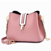 Wholesale ladies working handbags for sale - Group buy New Luxury Fashion Bucket Bags Women Crossbody Handbag Simple Style Shoulder Bags Ladies Shopping Party Working Womens Messenger Bags