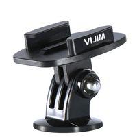 Wholesale aluminum base plates resale online - VIJIM GP Aluminum Quik Release Base for Action Cameras Quick Install Plate for Gopro765 Osmo Action EKEN SJCAM Action