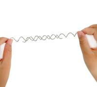 metall-zaubertricks großhandel-Mystische illusion magic wire spiral metall ring lustige nahaufnahme straße magic trick spielzeug für kinder neuheit tricks