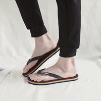 Wholesale leather babouche resale online - Men Brief Sandal Flippers Summer Fashion Beach Foothold Hollow Out Babouche Outdoor Casual Slippers Novelty Unisex Flip Flops