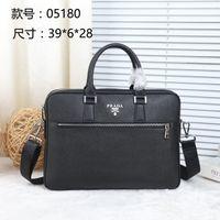 erkek iş çantaları toptan satış-Ünlü Marka Iş Erkek Evrak Çantası Adam Omuz Çantası Lüks Deri Laptop Çantası Basit erkek Çanta bolsa maleta