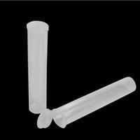 plastique d'emballage noir achat en gros de-Tubes d'emballage de vape en gros 0.5 ml 1 ml en plastique tube transparent tube noir pour cartouche d'huile épaisse stylo vape contenant de tube en PP vide
