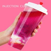 90 caliber injection cup lid disposable milk tea plastic