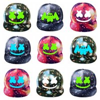 Wholesale korean visor cap for sale - Group buy Cheap Adult DJ Marshmello Hat Game Around The Starry Hat Flat Cap Korean Version of Men and Women Visor Canvas Cap Baseball Cap Adjustable