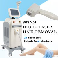 tonificação a laser venda por atacado-congelada cabeça diodo depilação a laser Soprano Laser cabelo do laser 808nm remoção diodo toda a pele tons disponíveis