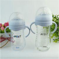 2 Stück Flaschen Griffe Weithals Klassische Babyflaschen Zubehör
