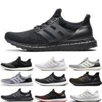 Wholesale black men running shoes discounted for sale - Group buy Discounts UB Sneaker men women Running Shoes Triple black white CNY mens Sports shoes trainer jogging shoe