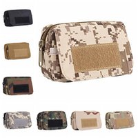 Wholesale bag pack waterproof resale online - Nylon Utility Tactical Waist Pack Travel Portable Waterproof Tactical Pouch Outdoor Camping Hiking Durable Tactical Waist Bag DH0837