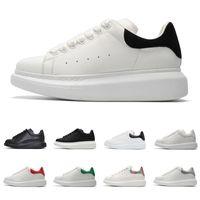 männer weiße schuhe mode groihandel-Designer-Schuhe für Männer, Frauen, Mode-Plattform-Turnschuhe 3m reflektierende dreifach schwarz weiß Leder Wildleder Herren flache Freizeitschuh Größe 36-44