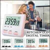 contar el reloj al por mayor-Temporizador digital LCD Count -abajo Hasta despertador estudio para el examen de la siesta cocina que cocina temporizador de cocina Cooking herramientas accesorias