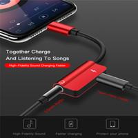 kopfhöreranschluss groihandel-2 in 1 USB Typ-C-Kabel Audio-Kopfhörer-Konverter Typ C bis 3,5 mm Kopfhöreranschluss für Xiaomi mi9 Samsung S10 + Huawei honor 9 ladegerät