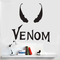 Wholesale wall decal sofa resale online - Venom stickers Heroic stickers Living room sofa background wall decoration stickers for children s room personality Vinyl Wall Decals