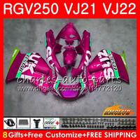 Wholesale fairing 1989 resale online - Fairing For SUZUKI RGV SAPC RGV VJ22 Frames light pink top HC RGV250 VJ21 Body