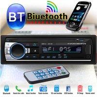 receptor de tv chinês venda por atacado-Rádio do carro do bluetooth jogador estéreo mp3 usb / sd / fm usb mp3 player de rádio receptor de entrada aux chamadas hands-free USB Flash Disk dvd do carro
