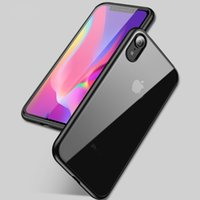 Wholesale ipaky back case for iphone resale online - iPaky Case For iPhone X XS Max XR Ultrathin Transparent Back Cover PC TPU Drop proof Hard Soft Cases With Retail Package In Stock