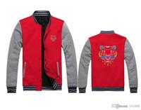 casacos de couro venda por atacado-marca Tide KZMLB uniforme de beisebol casal bordados jaqueta jaqueta de couro casal casaco masculino feminino da equipe Yankees base grossa marca maré