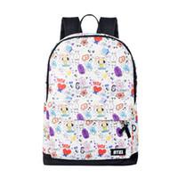 venta de mochilas florales al por mayor-Venta caliente nuevos estudiantes mochila para niños y niñas bolsa de escuela unisex de alta calidad encantadora bolsa de estudiantes paquete de computadora