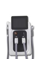 ingrosso yag macchine per la rimozione del tatuaggio-Macchina veloce del laser dell'alessandrite di ringiovanimento della pelle di Elight della macchina di depilazione del laser del laser di OPT SHR IPL di depilazione dell'OPT professionale
