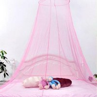 Wholesale princess kids beds resale online - Baby Bedding Crib Netting Princess Baby Mosquito Net Bed Kids Canopy Bedcover Curtain Bedding Dome Tent Elegant Lace Canopy