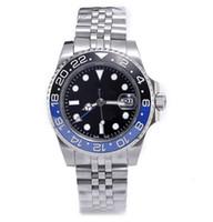 сапфир мужские часы оптовых-4 булавки роскошные мужские дизайнерские часы сапфировые автоматические механические наручные часы Montre de luxe orologio di lusso