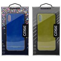 ingrosso carta di scatola del pacchetto al dettaglio-Scatola del pacchetto di vendita al dettaglio universale per iphone XS MAX XR X 6S 7 8 plus cassa del telefono cellulare scatola di carta di carta copertina del telefono per Samsung S8 S9 PLUS